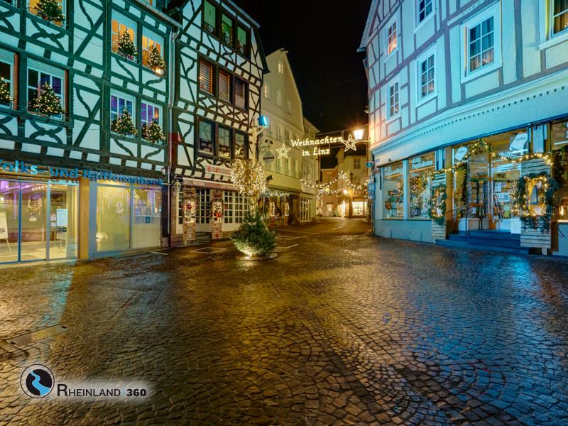 Weihnachten 2020 in Linz am Rhein